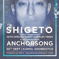 Shigeto at Kamio on Friday 30th September 2016