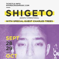 Shigeto at Echoes on Wednesday 28th September 2016