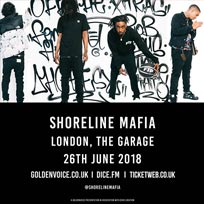 Shoreline Mafia at The Garage on Tuesday 26th June 2018