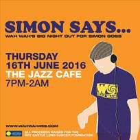 Simon Says at Jazz Cafe on Thursday 16th June 2016