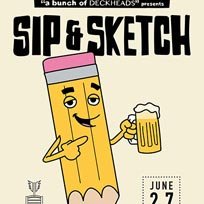 Sip & Sketch at Radicals & Victuallers on Thursday 27th June 2019