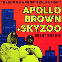 Apollo Brown & Skyzoo at Archspace on Saturday 18th November 2017