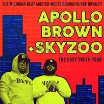 Apollo Brown & Skyzoo at Archspace on Saturday 18th November 2017