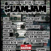Slam Jam at Silver Bullet on Thursday 2nd June 2016