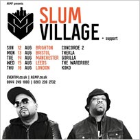 Slum Village at KOKO on Thursday 16th August 2018