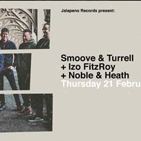 Smoove & Turrell at Jazz Cafe on Thursday 21st February 2019