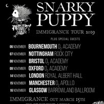 Snarky Puppy at Royal Albert Hall on Thursday 14th November 2019
