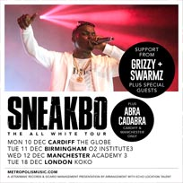 Sneakbo at KOKO on Tuesday 18th December 2018