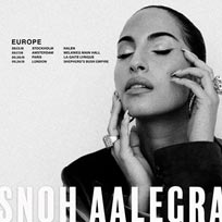 Snoh Aalegra at Shepherd's Bush Empire on Tuesday 24th September 2019