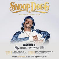 Snoop Dogg at The o2 on Wednesday 15th April 2020