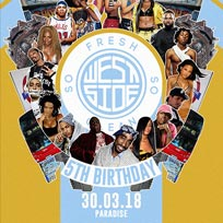 So Fresh So Clean: Westside at Paradise by way of Kensal Green on Friday 30th March 2018