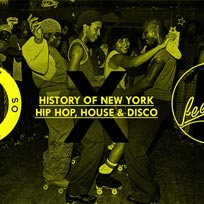 History of New York Hip Hop at Ministry of Sound on Saturday 19th August 2017