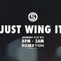 Just Wing It at Brixton Beach Boulevard on Saturday 21st October 2017