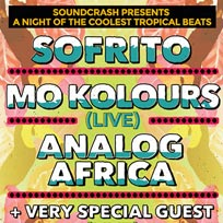 Soundcrash Tropical Party at Oval Space on Saturday 25th November 2017