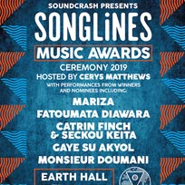 Songlines Music Awards at EartH on Saturday 30th November 2019