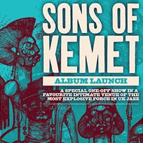 Sons of Kemet at Total Refreshment Centre on Saturday 17th March 2018