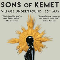 Sons of Kemet at Village Underground on Wednesday 25th May 2016