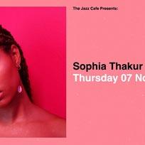 Sophia Thakur at Jazz Cafe on Thursday 7th November 2019