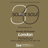 Soul II Soul at London Palladium on Sunday 28th October 2018