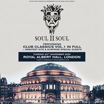 Soul II Soul at Royal Albert Hall on Sunday 24th November 2019