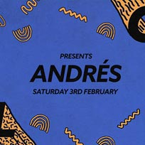 Soul City w/ Andrés at Jazz Cafe on Saturday 3rd February 2018
