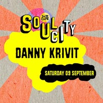 Soul City w/ Danny Krivit at Jazz Cafe on Saturday 9th September 2017