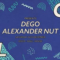 Soul City w/ Dego + Alexander Nut at Jazz Cafe on Saturday 16th December 2017