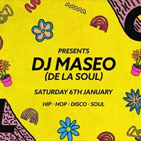 Soul City w/ Maseo at Jazz Cafe on Saturday 6th January 2018