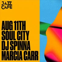 Soul City w/ DJ Spinna at Jazz Cafe on Saturday 11th August 2018