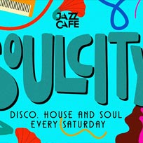 Soul City at Jazz Cafe on Saturday 29th September 2018