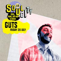 Soul City w/ GUTS at Jazz Cafe on Friday 28th July 2017