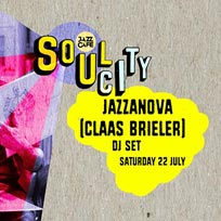 Soul City w/ Jazzanova at Jazz Cafe on Saturday 22nd July 2017