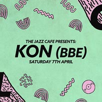 Soul City w/ Kon at Jazz Cafe on Saturday 7th April 2018