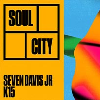 Soul City w/ Seven Davis Jr at Jazz Cafe on Saturday 4th August 2018
