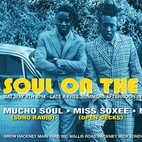 Soul On The Canal Side at Grow Hackney on Saturday 4th May 2019