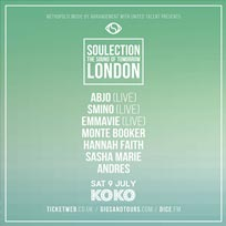 Soulection at KOKO on Saturday 9th July 2016