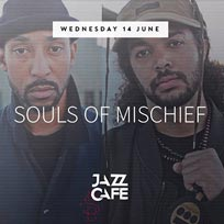 Souls of Mischief at Jazz Cafe on Wednesday 14th June 2017