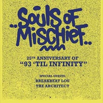 Souls of Mischief at Jazz Cafe on Sunday 10th June 2018