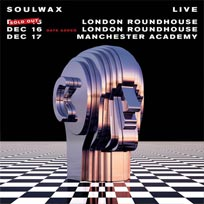 Soulwax at The Roundhouse on Saturday 16th December 2017