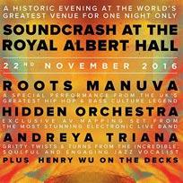 Soundcrash at the Royal Albert Hall at Royal Albert Hall on Tuesday 22nd November 2016