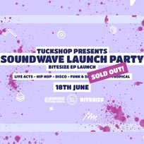 Soundwave Launch Party at Brixton Jamm on Saturday 18th June 2016