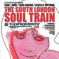 South London Soul Train at Bussey Building on Saturday 1st October 2016