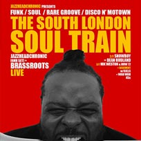 South London Soul Train at Bussey Building on Saturday 19th November 2016