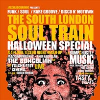 South London Soul Train at Bussey Building on Saturday 29th October 2016