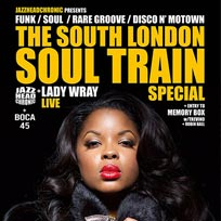 South London Soul Train at Bussey Building on Saturday 12th November 2016