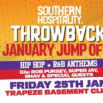 Throwback at Trapeze on Friday 25th January 2019