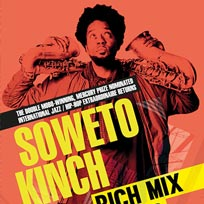Soweto Kinch at Rich Mix on Thursday 21st September 2017
