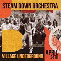 The Steam Down Orchestra at Village Underground on Wednesday 24th April 2019