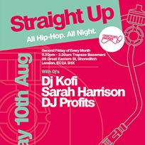 Straight Up at Trapeze on Friday 10th August 2018