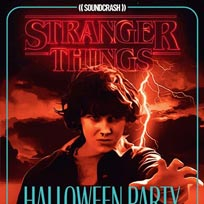 Stranger Things Halloween Party at EartH on Saturday 26th October 2019